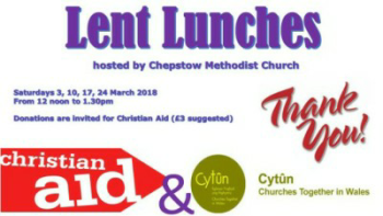 Lent Lunches 2018